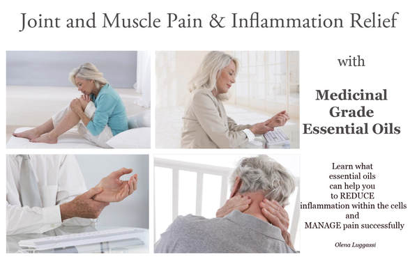 Arthritis Joint and muscle pain and inflammation relief with essential oils.