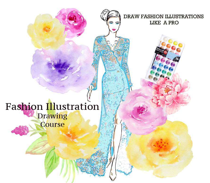 Olena Luggassi, drawing fashion illustrations, fashion design courses and classes, online fashion design courses, fashion courses on the Gold Coast, Brisbane, Australia, fashion illustration, learn to draw, learn to design, the best fashion design courses, cheap fashion design courses and classes