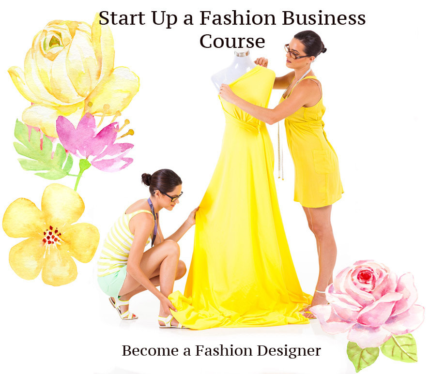 How to start a fashion business. How to start a fashion line. How to start a fashion line course