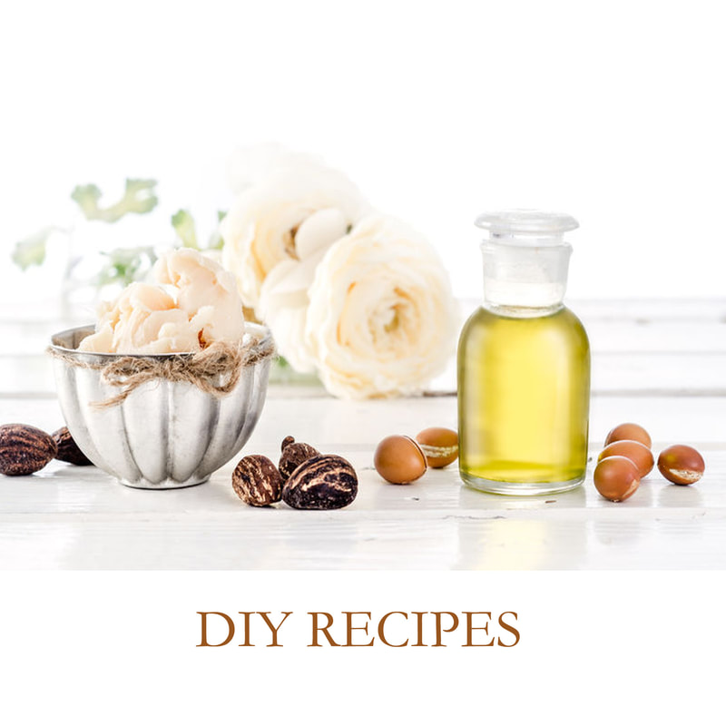 DIY recipes with essential oils for health, wellness and beauty