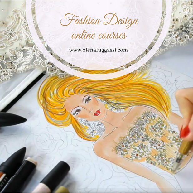 Fashion drawing and designing courses, online fashion courses